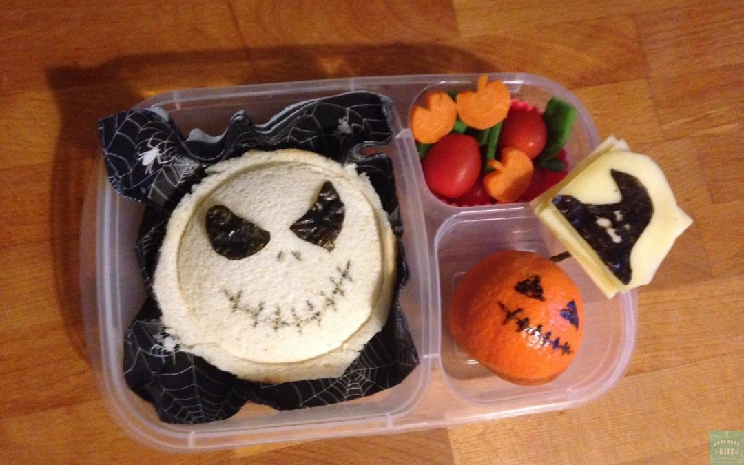 Halloween – Sandwich fourré Jack Skellington