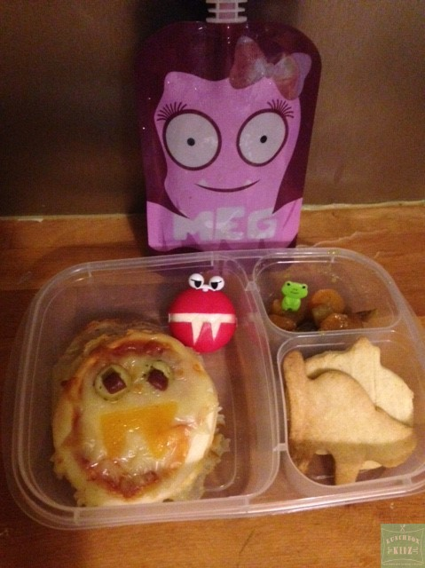 Idée Lunch – Mini Pizza Vampire