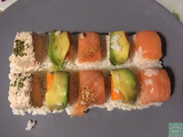 Idée Lunch – Mini Sushis